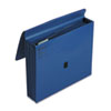 """ColorLife 5 1/4"""" Expansion File, Five Pockets, Letter, Dark Blue"""