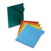 Jacket With 1/2 Inch Expansion, Letter, Assorted Colors, 5/pack