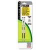 Refill For F301, F301 Ultra, F402, 301a, Spiral Ballpoint, Fine, Black, 2/pack