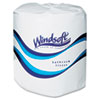 Single Roll Two Ply Premium Bath Tissue, 24 Rolls/carton
