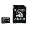 Picture of microSDHC Card wAdapter Class 4 16GB