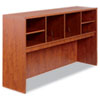 Alera Valencia Series Open Storage Hutch, 64-3/4w x 15d x 35-1/2h, Medium Cherry