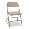CHAIR,FLDING,PADDED,TAN