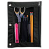Picture of Binder Pencil Pouch 10 x 7 38 BlackClear