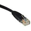 N002-010-Bk 10ft Cat5e 350mhz Molded Cable Rj45 M/m Black, 10'