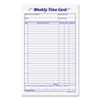 Picture of Employee Time Card Weekly 4 14 x 6 34 100Pack