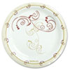 Symphony Paper Dinnerware, Mediumweight Plate, 6, Tan, 125/pack