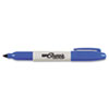 Super Permanent Markers, Fine Point, Blue, Dozen 33003