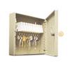 Uni-Tag Key Cabinet, 10-Key, Steel, Sand, 6 7/8 X 2 X 6 3/4