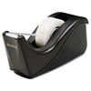 Value Desktop Tape Dispenser, 1 Core, Two-Tone Black