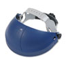 Tuffmaster Deluxe Headgear w/Ratchet Adjustment, Blue