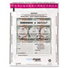 Freezfraud Tamper-Evident Deposit Bags, 12 X 16, Clear, 100/box
