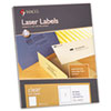 Laser/Inkjet Matte Clear Full Sheet Labels, 8 1/2 x 11, 50/Box coupons 2016