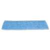 Economy Wet Mopping Pad, Microfiber, 18, Blue