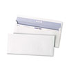 Reveal N Seal Business Envelope, #10, 4 1/8 x 9 1/2, White, 500/Box