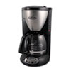 Home/Office Euro Style Coffee Maker, Black/Stainless Steel CP12BP