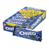 Oreo Cookies, Chocolate w/Cream Center, 6 Cookie Pack, 12 Packs/Box 03742