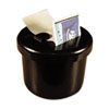 Ultimate Stamp Dispenser, One 100 Count Roll, Black, Plastic, 2 Dia. X 1 11/16