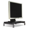 MONITOR STAND WITH SMARTFIT SYSTEM, 11 1/2 X 9 X 3, BLACK/GRAY