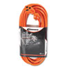 Indoor/Outdoor Extension Cord, 25ft, Orange