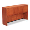 Alera Verona Veneer Series Storage Hutch With 4 Doors,65w x 15d x 36-1/2h,Cherry