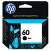 HP No.60 Black Ink Cartridge