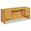 10500 Series Kneespace Credenza With 3/4-Height Pedestals, 72w x