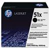 HP 51X, (Q7551X) High Yield Black Original LaserJet Toner Cartridge