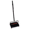 "Workhorse Carpet Sweeper, 46"", Black"