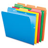 Ready-Tab File Folders, 1/3 Cut Top Tab, Letter, Assorted Colors, 50/Pack