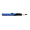 Retract-A-Blade Knife, #11 Blade, Blue/Black