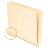 Pendaflex® Manila Laminated Shelf File Folders