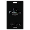 Canon® Photo Paper Pro Platinum, High Gloss, 4 x 6, 80 lb., White, 50 Sheets/Pack CNM2768B014