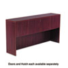 Valencia Series Hutch Doors, Laminate, 15-1/2w x 3/4d x 15h, Mahogany, 4/ST