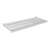 Industrial Wire Shelving Extra Wire Shelves, 48w x 18d, Silver, 2 Shelves/Carton