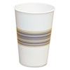 Paper Hot Cups, 12oz, Blue/Tan, 50/Bag, 20 Bags/Carton 12HOTCUP
