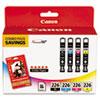 4546b007aa (cli-226) Chromalife100+ Ink/paper Combo, Black/cyan/magenta/yellow