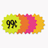 Die Cut Paper Signs, 4 Round, Assorted Colors, Pack Of 60 Each
