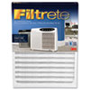 Easy-change office air cleaner filter for airborne particles and odors.
