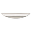 Alera Valencia Series Optional Drawer Pulls,6 1/2w x 3/4d x 1h, Silver, 2/Set
