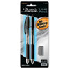 Sharpie Liquid Mechanical Pencil, 0.5 mm, 6 eraser refills, 2 per Set (SAN1770244)