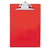 Recycled clipboard features sturdy construction and high-capacity clip.