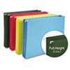 Smead® Hanging Pocket File Folders with Full Height Gusset