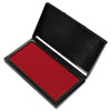 Microgel Stamp Pad For 2000 Plus, 2 3/4 X 4 1/4, Red