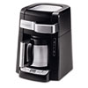 10-Cup Frontal Access Coffee Maker, Black