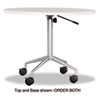 "RSVP Series Round Table Top, Laminate, 36"" Diameter, Gray"