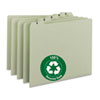 Smead® 100% Recycled Daily Top Tab File Guide Set