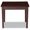 Verona Series Occasional Tables, 24w x 24d x 20h, Mahogany