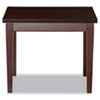 Verona Series Occasional Tables, 20w x 24d x 20h, Mahogany
