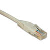 Cat5e Molded Patch Cable, 25 Ft., White
